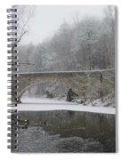 Wintertime In The Wissahickon Valley Spiral Notebook