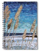 Wintertime On Lake Erie Spiral Notebook