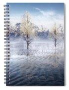 Wintery Coast Spiral Notebook