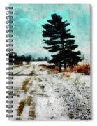 Wintry Altona Road Spiral Notebook