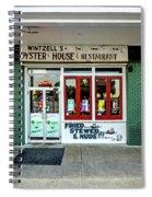 Wintzells Front Door In Mobile Alabama Spiral Notebook