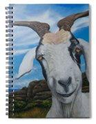 Wip 2- Goats Of St. Martin Spiral Notebook