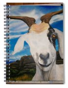 Wip- Goats Of St. Martin Spiral Notebook