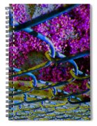 Wire Fence Trombones Spiral Notebook