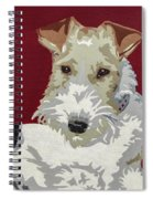 Wirehaired Fox Terrier Spiral Notebook