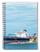 Wisby Atlantic - Incoming Ship Spiral Notebook