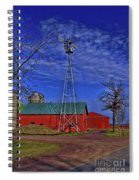 Wisconsin Amish Farm Spiral Notebook