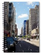 Wisconsin Ave 2 Spiral Notebook