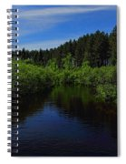 Wisconsin River In Vilas County Spiral Notebook