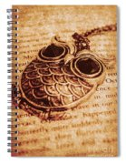 Wise Words And Keepsakes Spiral Notebook