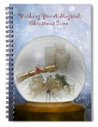 Wishing You A Magical Christmas Time Spiral Notebook