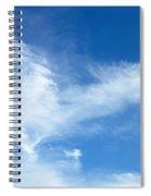 Wispy Clouds Spiral Notebook