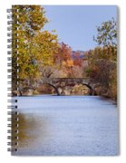 Wissahickon Autumn Spiral Notebook