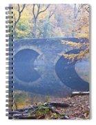 Wissahickon Creek At Bells Mill Rd. Spiral Notebook