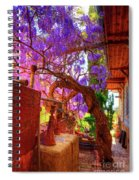 Wisteria Canopy In Bisbee Arizona Spiral Notebook