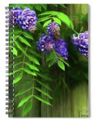 Wisteria 2 Spiral Notebook
