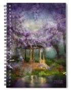Wisteria Lake Spiral Notebook