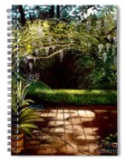 Wisteria Shadows Spiral Notebook