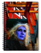 Witch On The Run Spiral Notebook