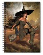 Witch Way  Spiral Notebook