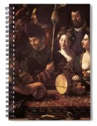 Witchcraft Allegory Of Hercules 1535 Spiral Notebook