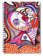 With Deep Thoughts And Tears - Iv Spiral Notebook