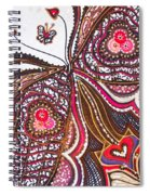 With Deep Thoughts And Tears - Ix Spiral Notebook