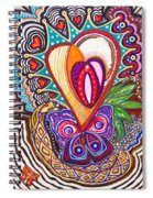 With Deep Thoughts And Tears - Viii Spiral Notebook