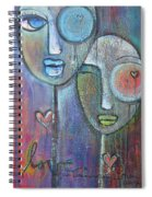 With Love On Our Wings Spiral Notebook