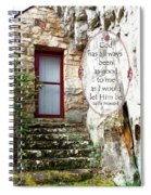 With Me - Quote Spiral Notebook
