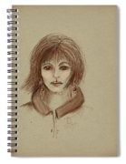 With Short Hair Spiral Notebook