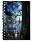 With The Back To The Sea  Spiral Notebook