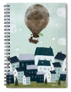 With The Birds Spiral Notebook