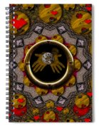 With The Future In Our Soft Hands Spiral Notebook