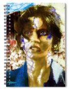 With The Wind In Her Hair Spiral Notebook
