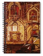 Within The Scaffold Spiral Notebook