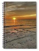 Witness - Florida Sunset Spiral Notebook