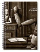 Witness For The Prosecution Spiral Notebook