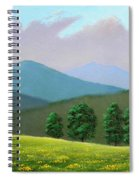 Witness Trees In Spring Spiral Notebook