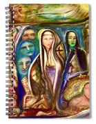 Witnessed With Sister Beyond Reasoning Or Mystery Spiral Notebook