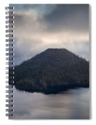Wizard Among The Mists Spiral Notebook