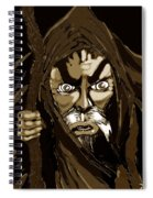 Wizard From The Desert  Spiral Notebook