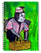 Wizard Of Oz Flying Monkey Spiral Notebook