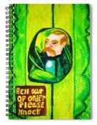 Wizard Of Oz Gate Keeper  Spiral Notebook