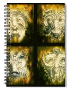 Wizard Rogue's Gallery Spiral Notebook