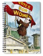 W.j. Bryan Cartoon, C1915 Spiral Notebook