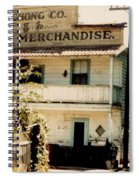 Wo Chong General Store Courtland Ca Spiral Notebook