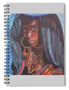 Virtuous Wodaabe Girl          From The Attitude Girls  Spiral Notebook
