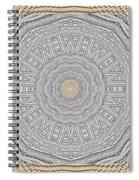 Wodden Sacred Popart Spiral Notebook