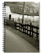 Wolf Creek Road Spiral Notebook